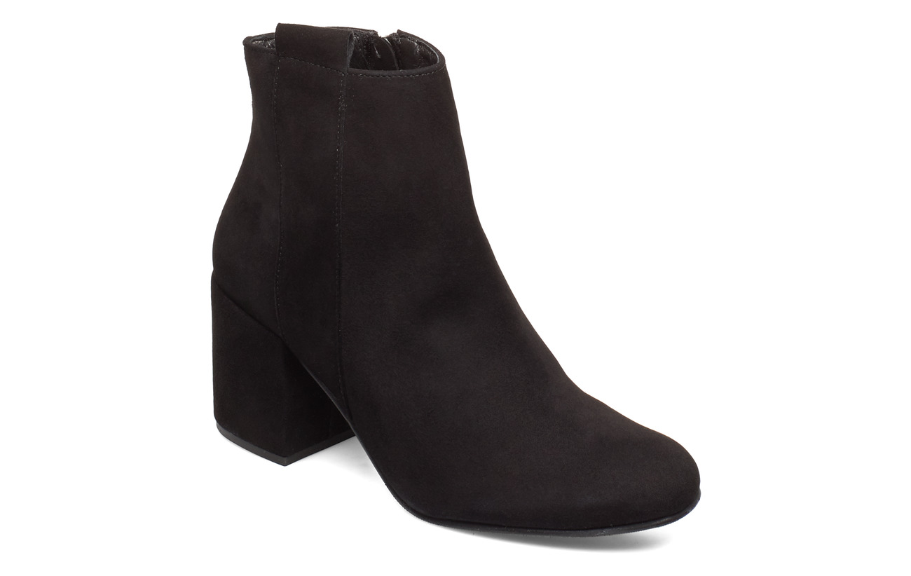 Selected Femme SLFSANA NEW SUEDE BOOT B - BLACK