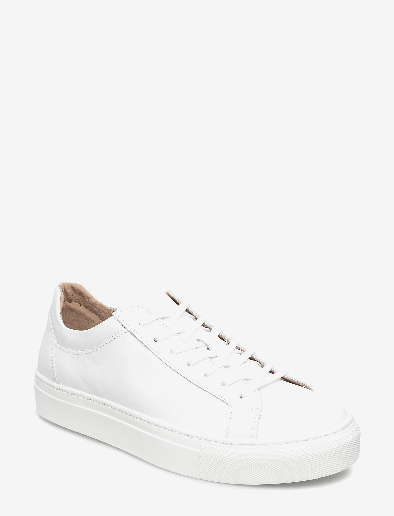 Selected Femme - SFDONNA SNEAKER NOOS - lave sneakers - white - 0