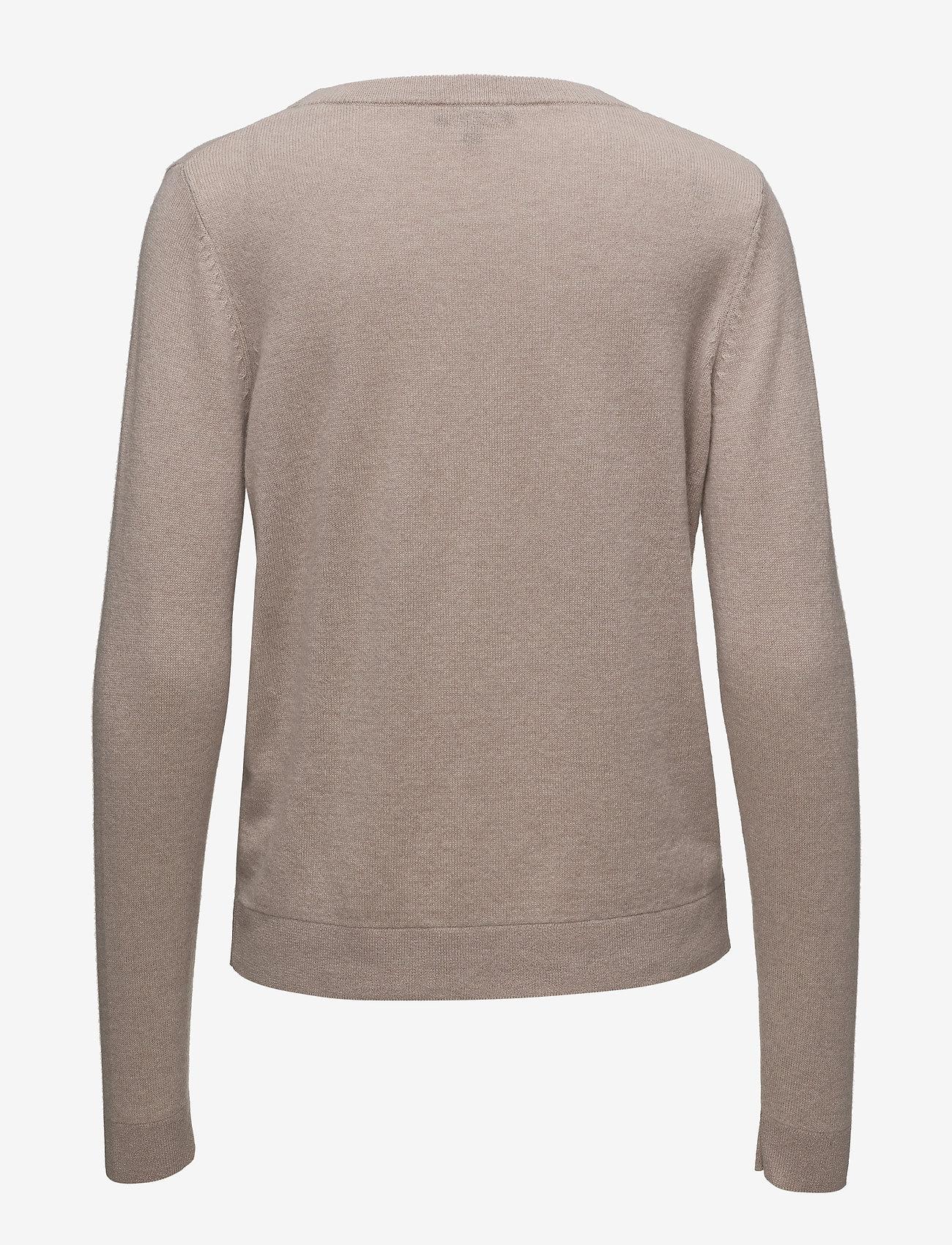 Selected Femme - SLFAYA CASHMERE LS KNIT O-NECK NOOS - cashmere - adobe rose - 1