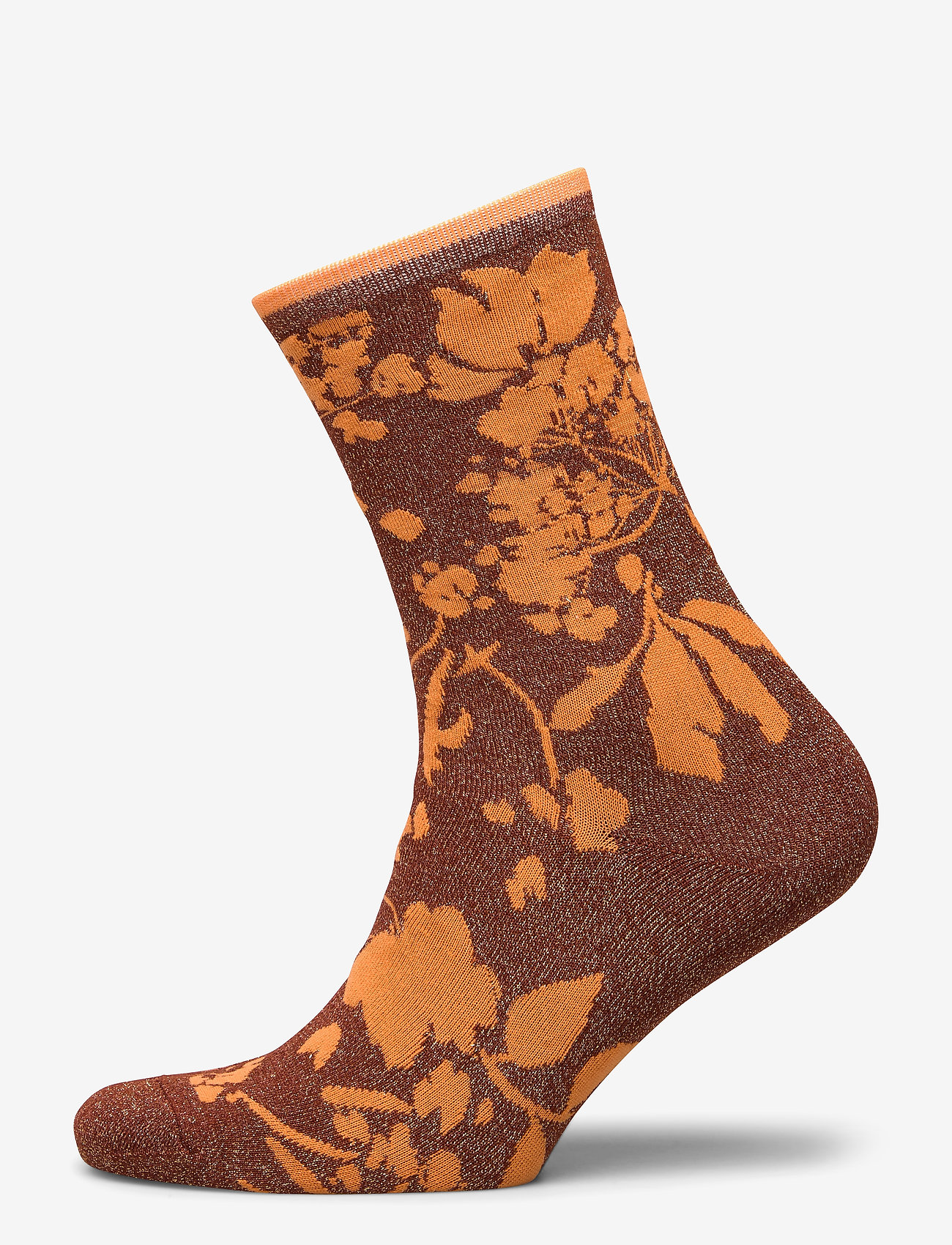 Selected Femme - SLFVIDA SOCK B - sokken - smoked paprika - 0