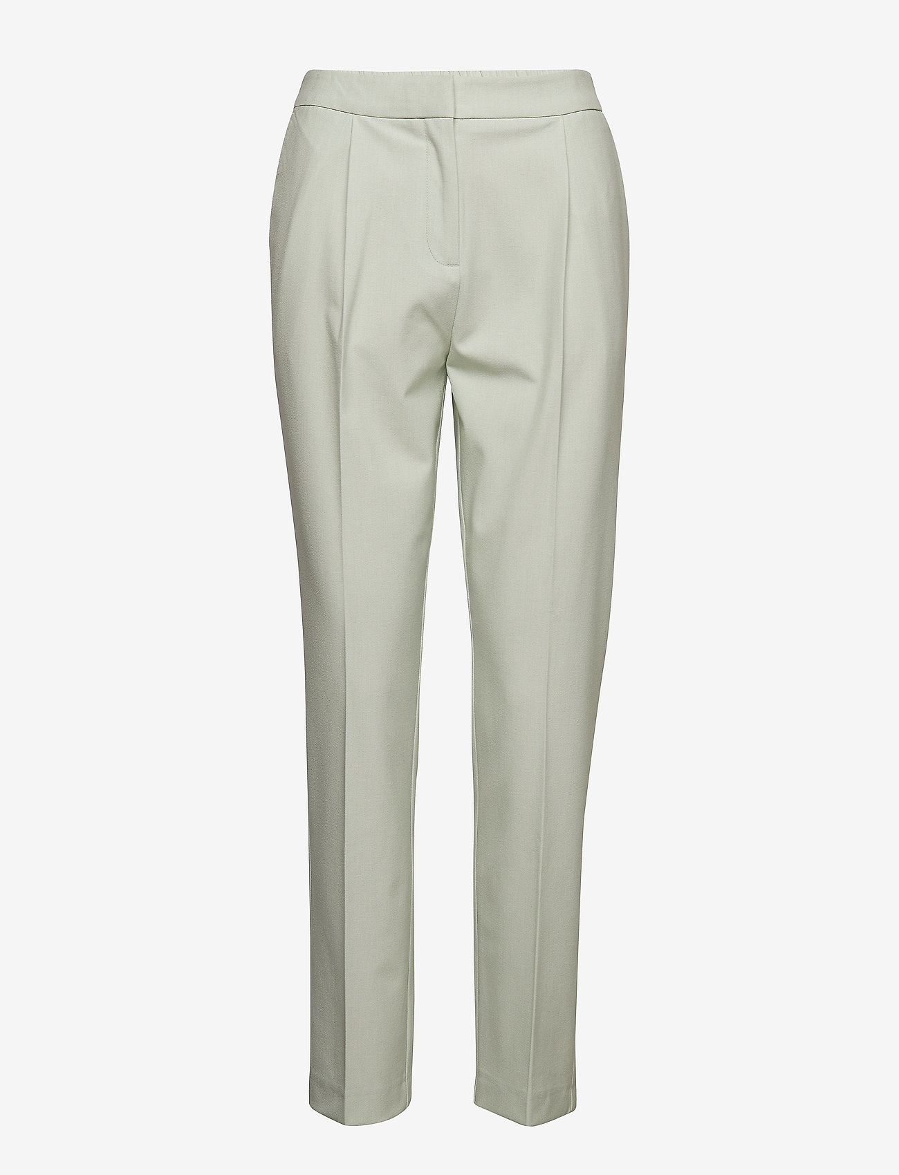 Selected Femme - SLFOLLA MW PANT B - straight leg trousers - spray - 0