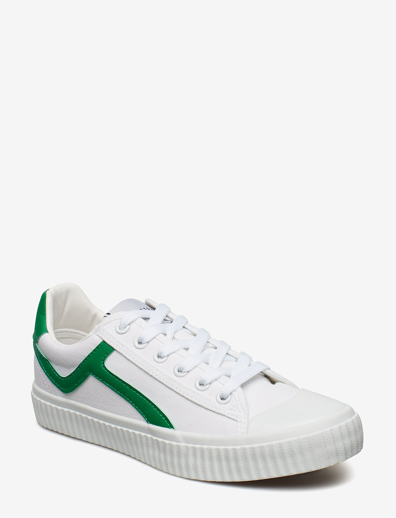 Selected Femme - SLFERICA CANVAS TRAINER B - lave sneakers - gumdrop green - 0