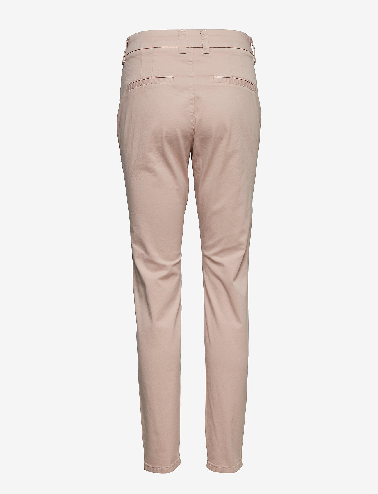 Selected Femme - SLFMEGAN MW CHINO NOOS W - chinos - adobe rose - 1