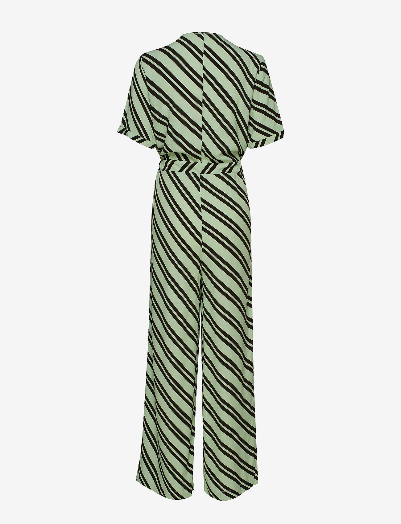 Selected Femme - SLFPIXIE SS WIDE JUMPSUIT B - jumpsuits - laurel green - 1