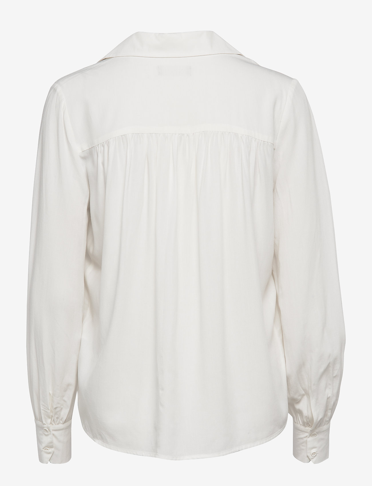 Selected Femme - SLFDAISY LS TOP NOOS - long sleeved blouses - creme - 1