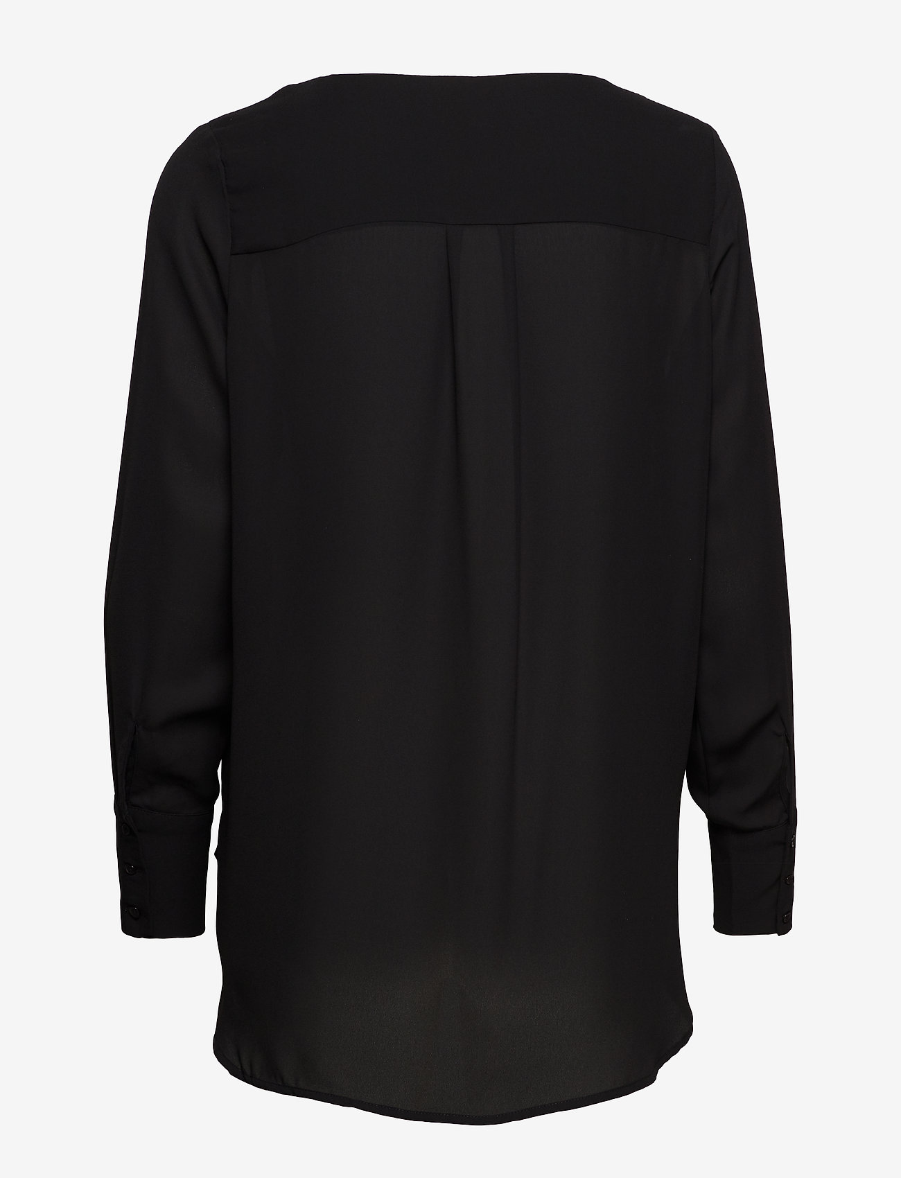 Selected Femme - SLFSTINA-DYNELLA LS SHIRT B NOOS - long sleeved blouses - black - 1