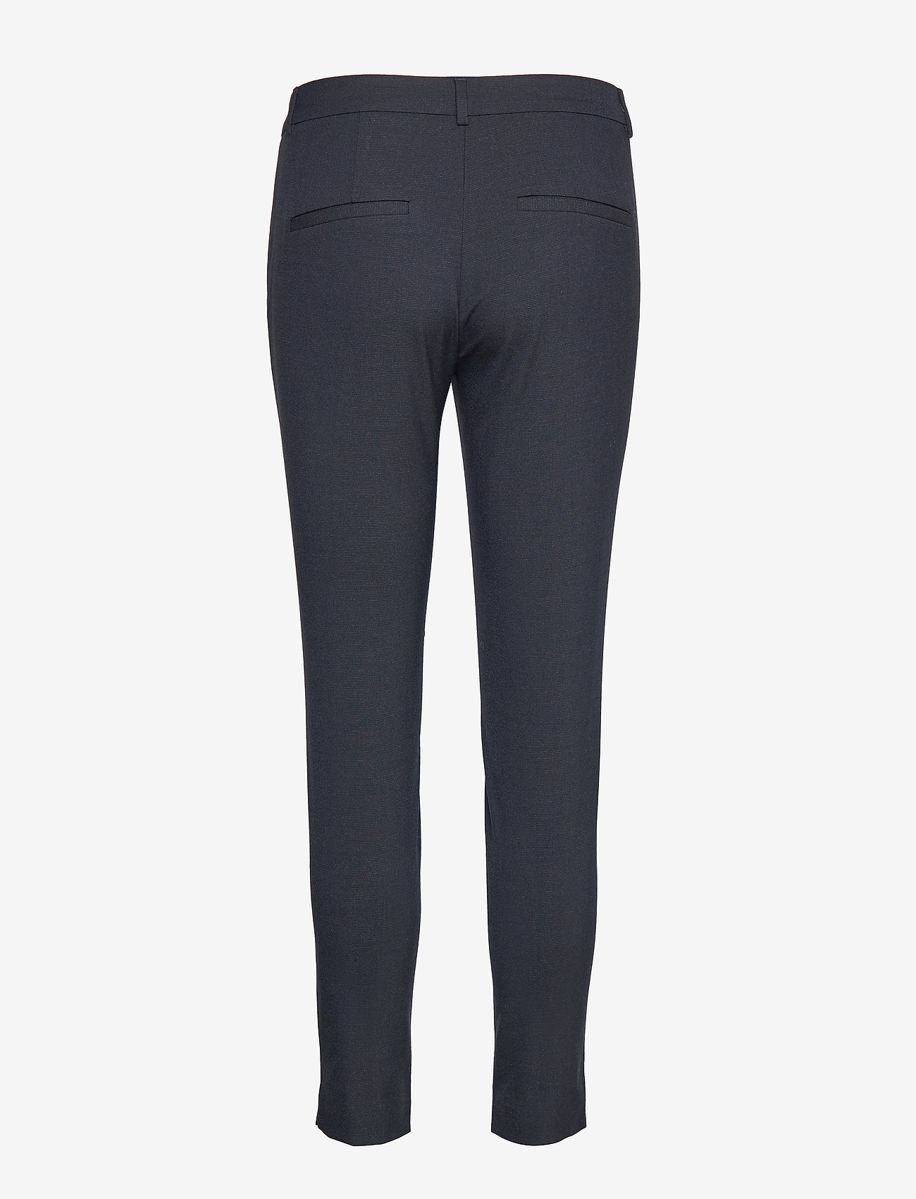 Selected Femme - SLFMUSE FIE CROPPED MW PANT  DS MEL NOOS - spodnie rurki - dark sapphire - 1