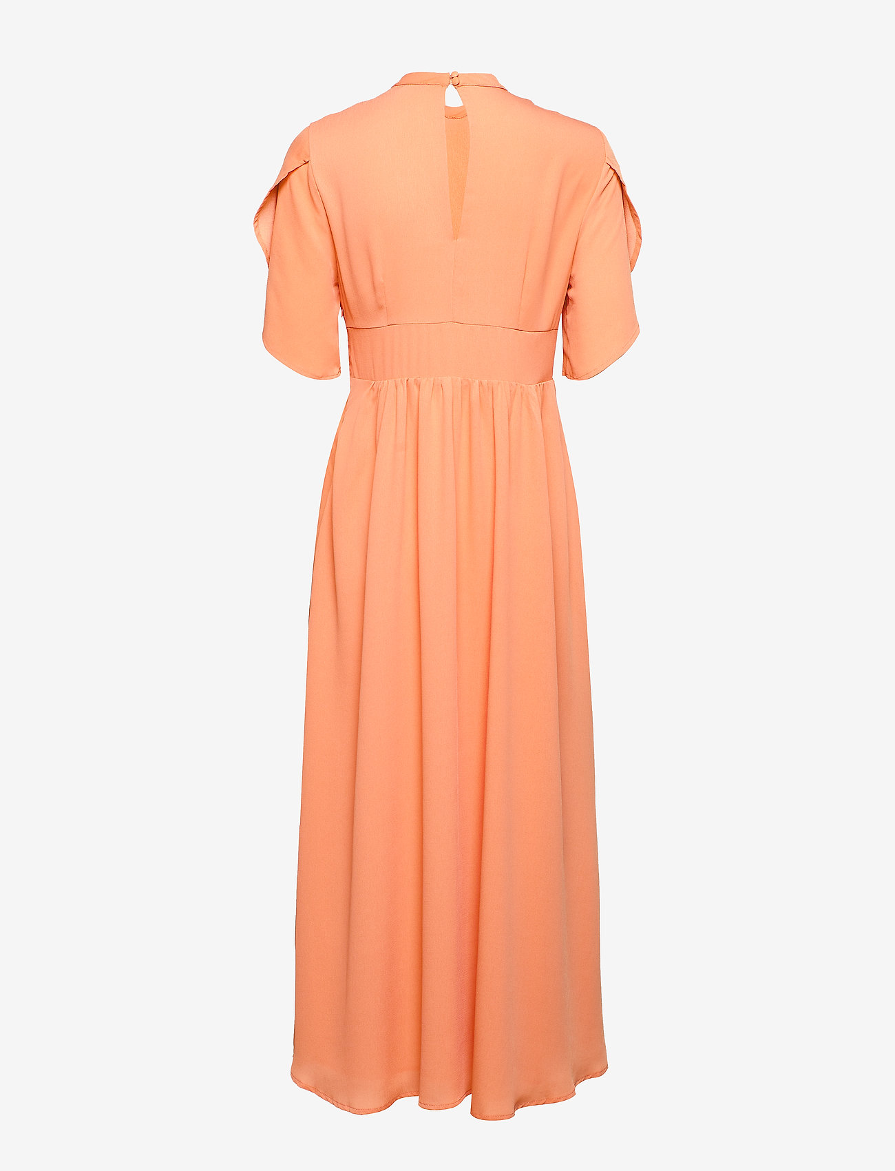 Selected Femme - SLFSTALL SS ANKLE DRESS EX - robes midi - peach bloom - 1