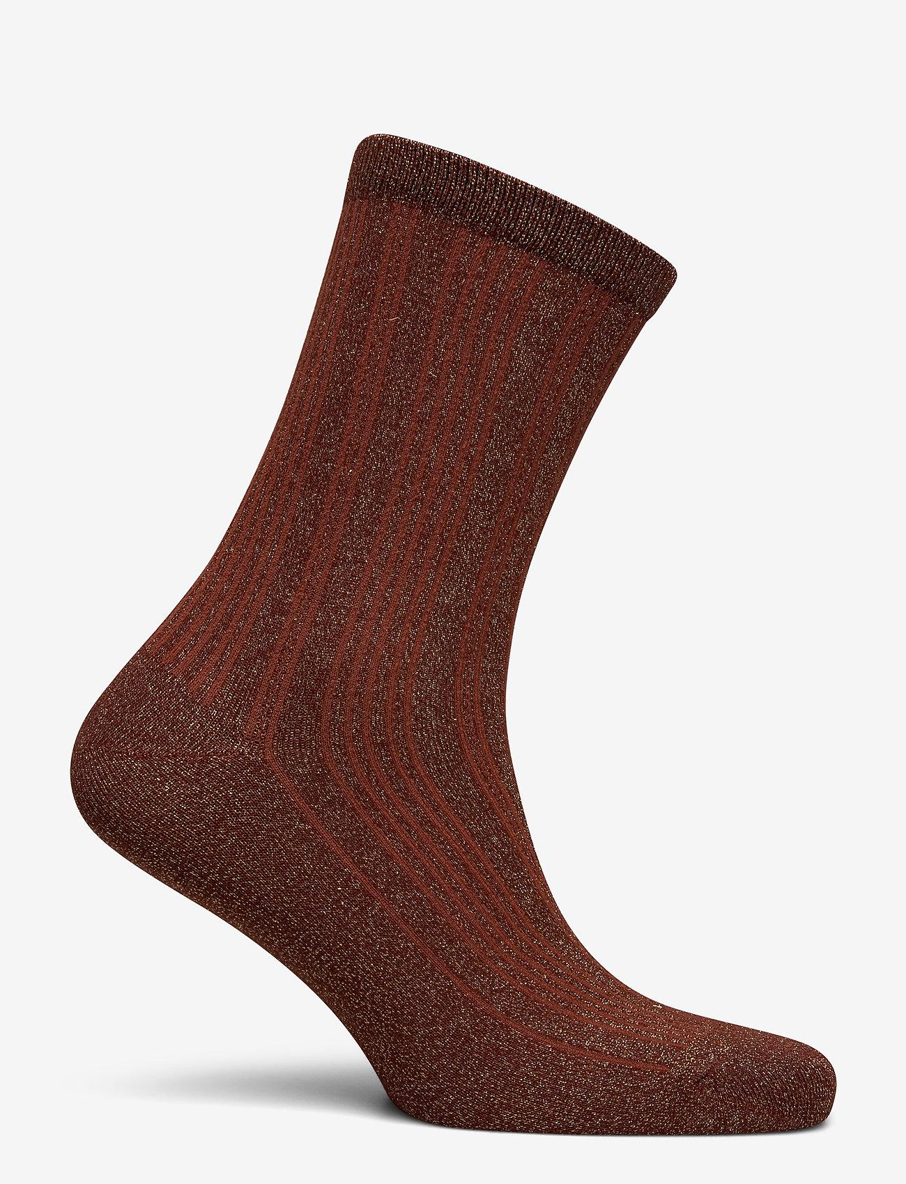 Selected Femme - SLFLANA SOCK B - sokken - smoked paprika - 1