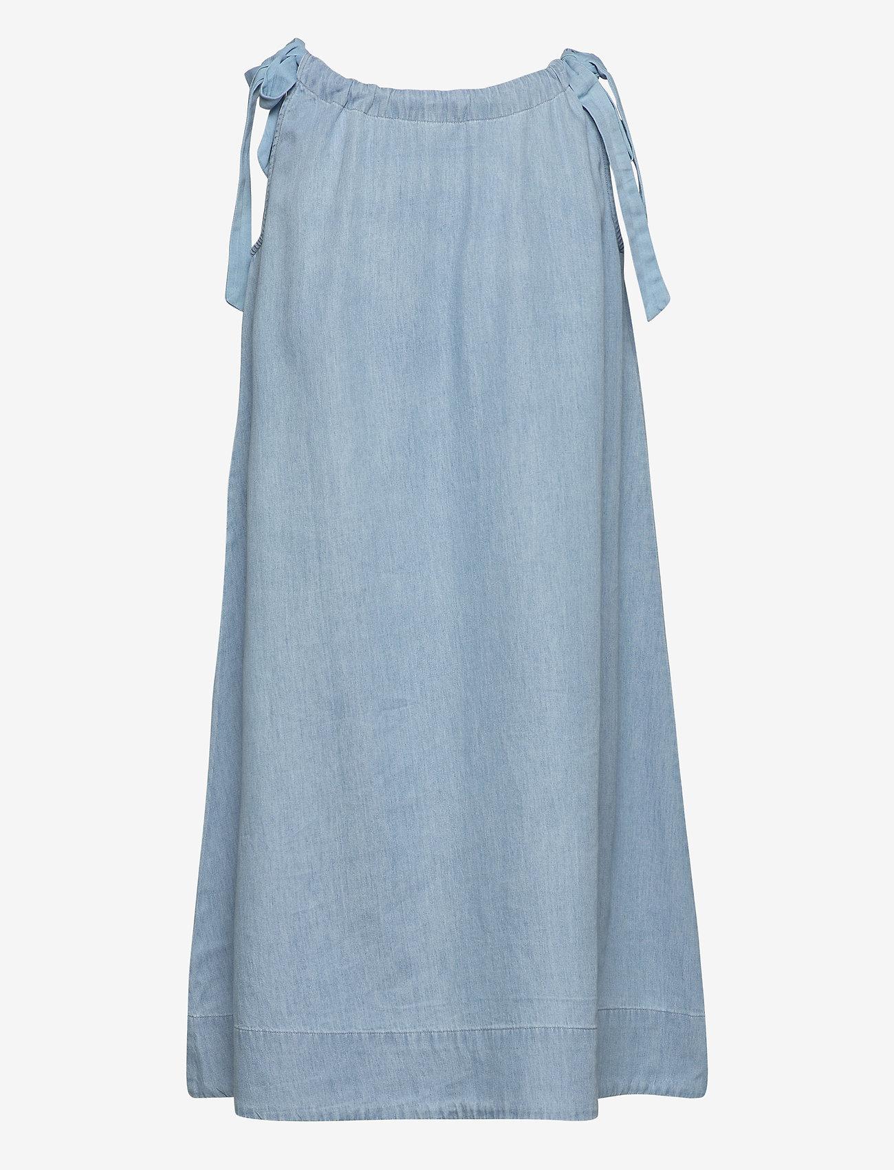 Selected Femme - SLFNOVO SL DRESS W - robes en jeans - light blue - 1