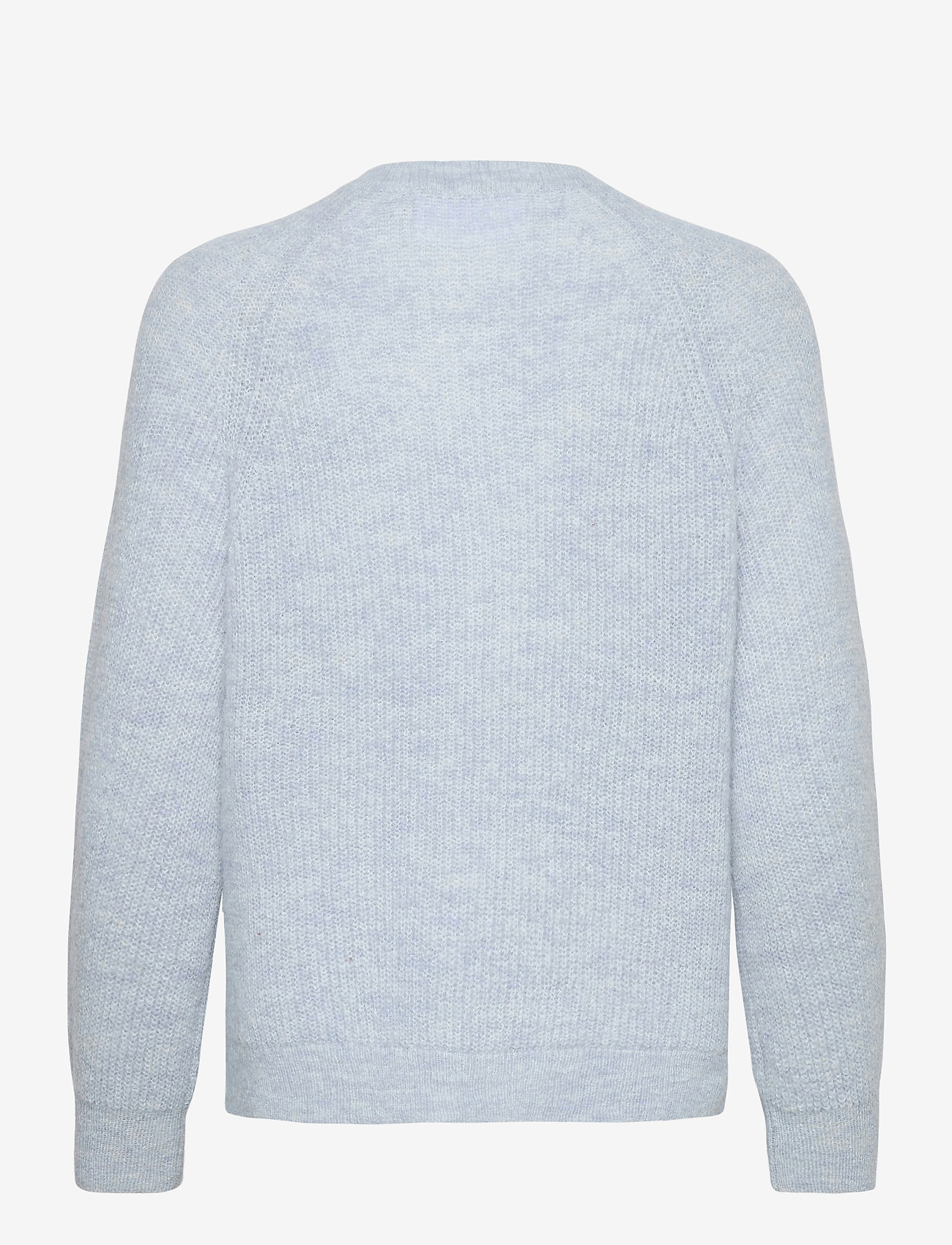 Selected Femme - SLFLULU LS KNIT SHORT CARDIGAN - cardigans - cashmere blue - 1