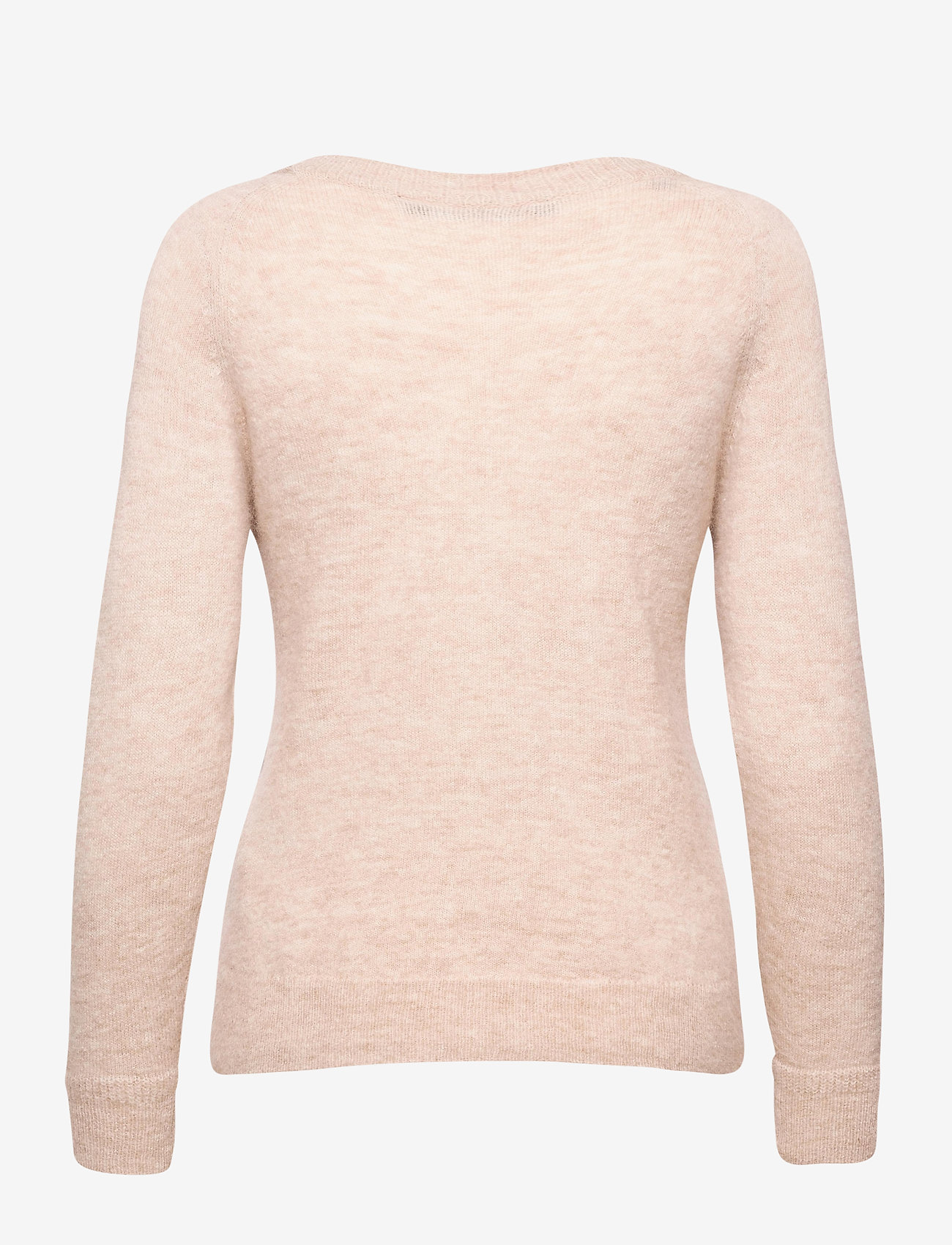 Selected Femme - SLFLULU LS KNIT O-NECK - tröjor - birch - 1
