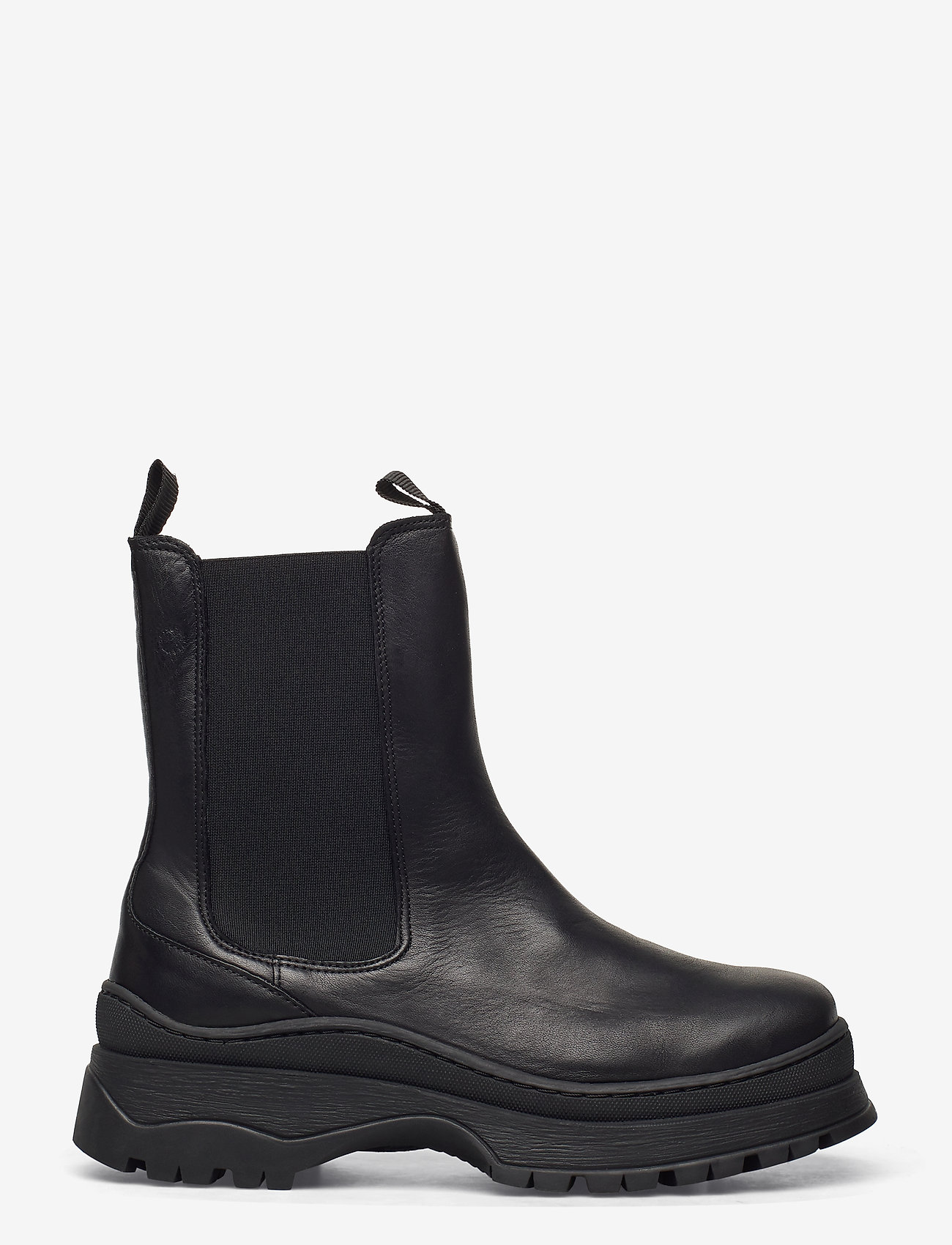Selected Femme - SLFLUCY LEATHER CHELSEAOOT - chelsea boots - black - 1