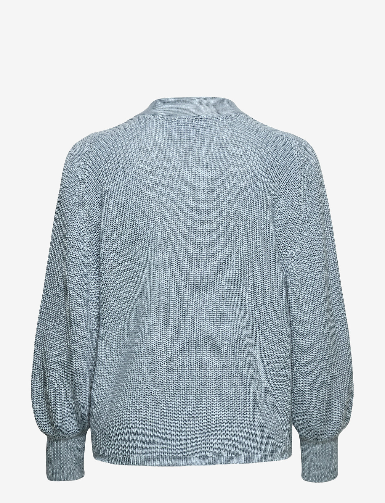 Selected Femme - SLFEMMY LS KNIT CARDIGAN - cardigans - cashmere blue - 1