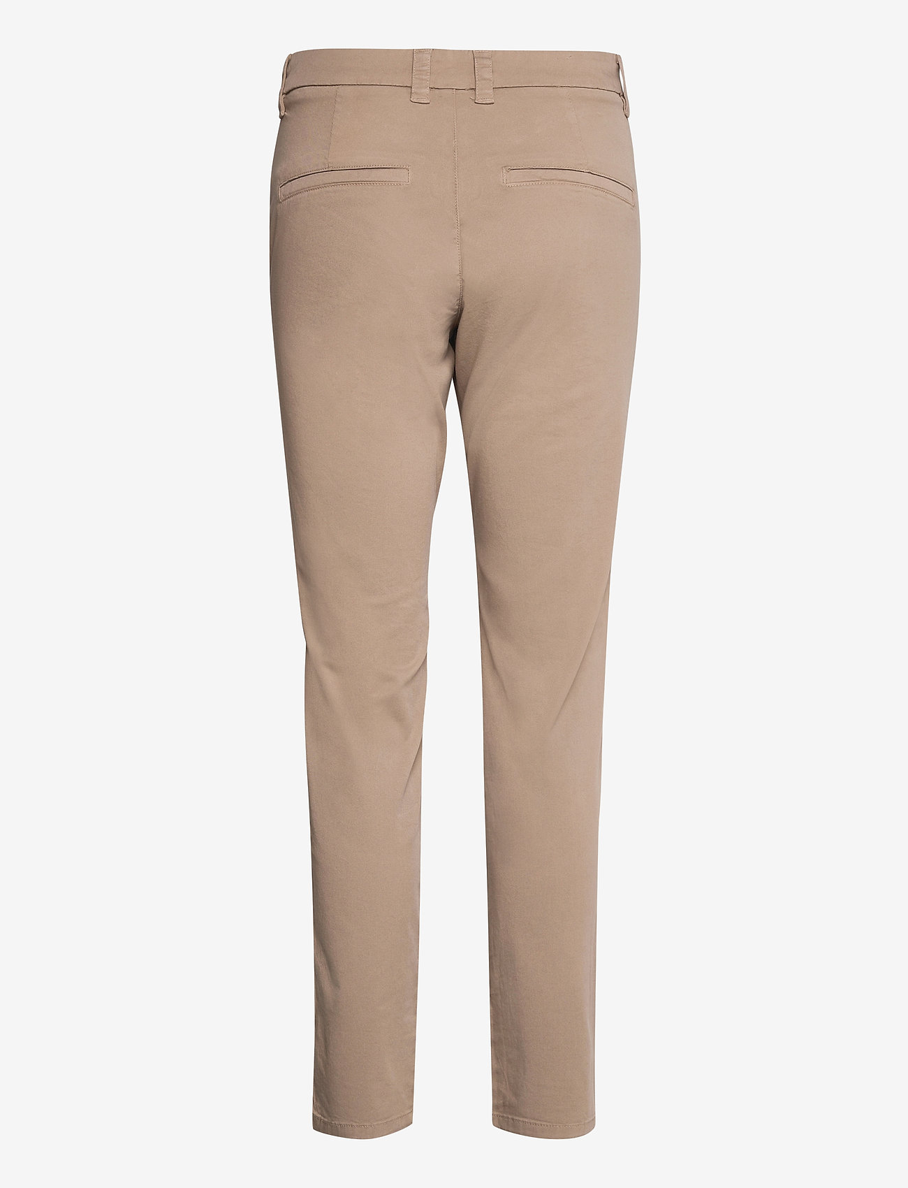 Selected Femme - SLFMILEY MW CHINO U - chinos - silver mink - 1