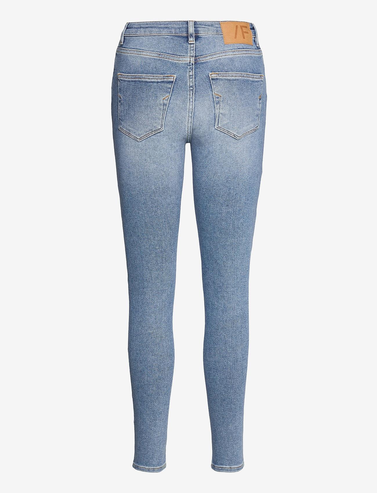 Selected Femme - SLFSOPHIA MW SKINNY MIDLUE JEAN U - skinny jeans - medium blue denim - 1