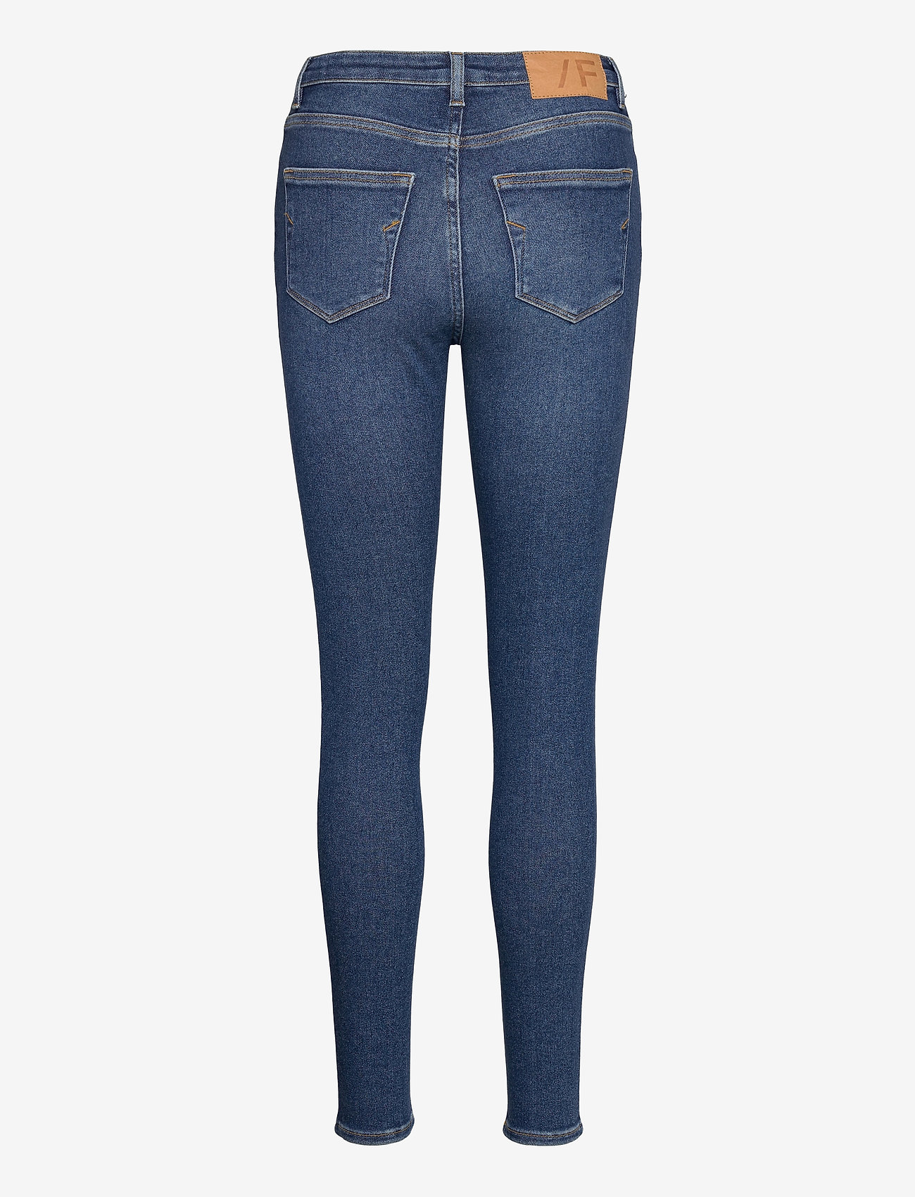 Selected Femme - SLFSOPHIA MW SKINNY DARK BLU JEAN U - skinny jeans - dark blue denim - 1