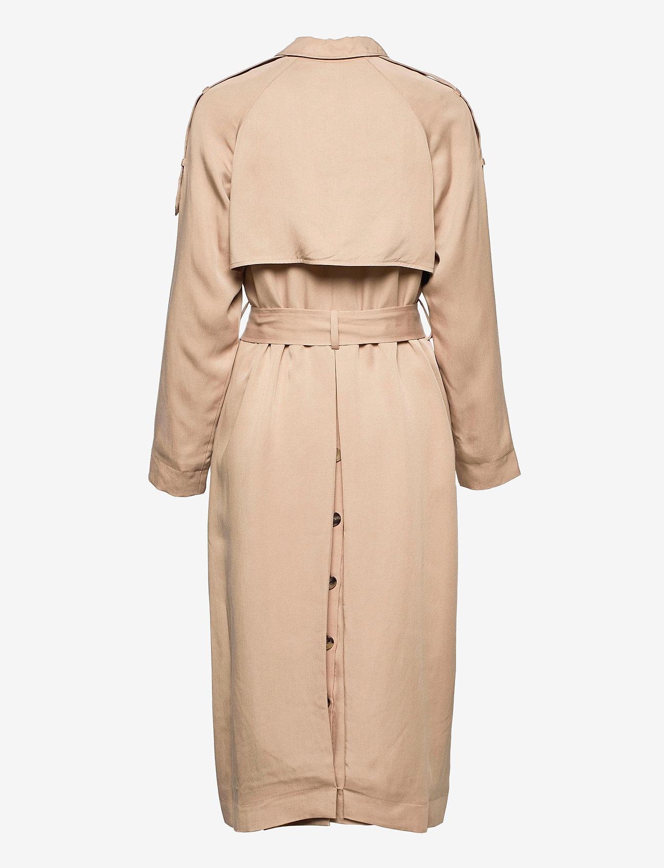 Selected Femme - SLFBRENNA TRENCHCOAT - trenchcoats - nomad - 1