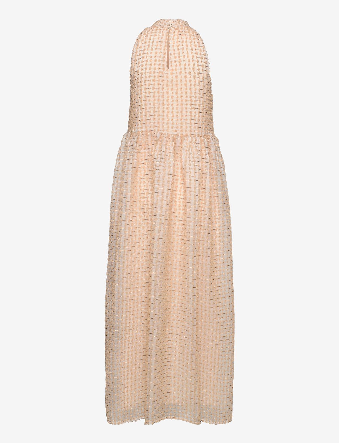 Selected Femme - SLFDOSKY SL MAXI DRESS G - white - 1