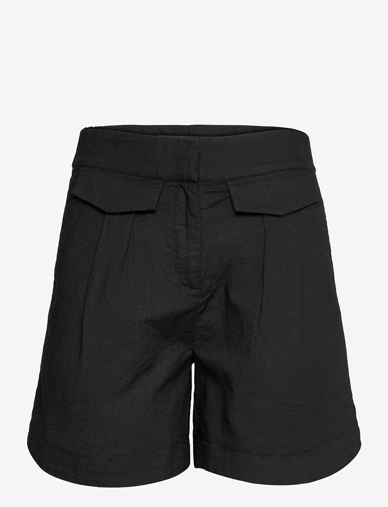 Selected Femme - SLFCECILIE MW SHORTS B - shorts casual - black - 0