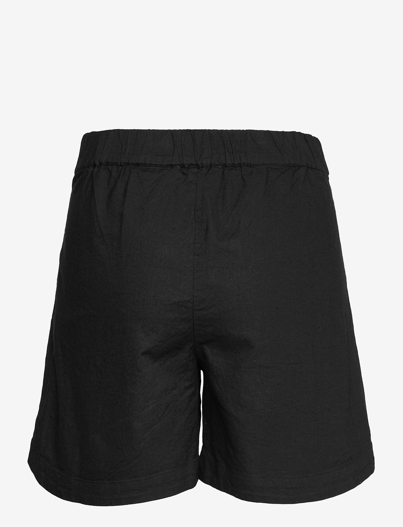 Selected Femme - SLFCECILIE MW SHORTS B - shorts casual - black - 1