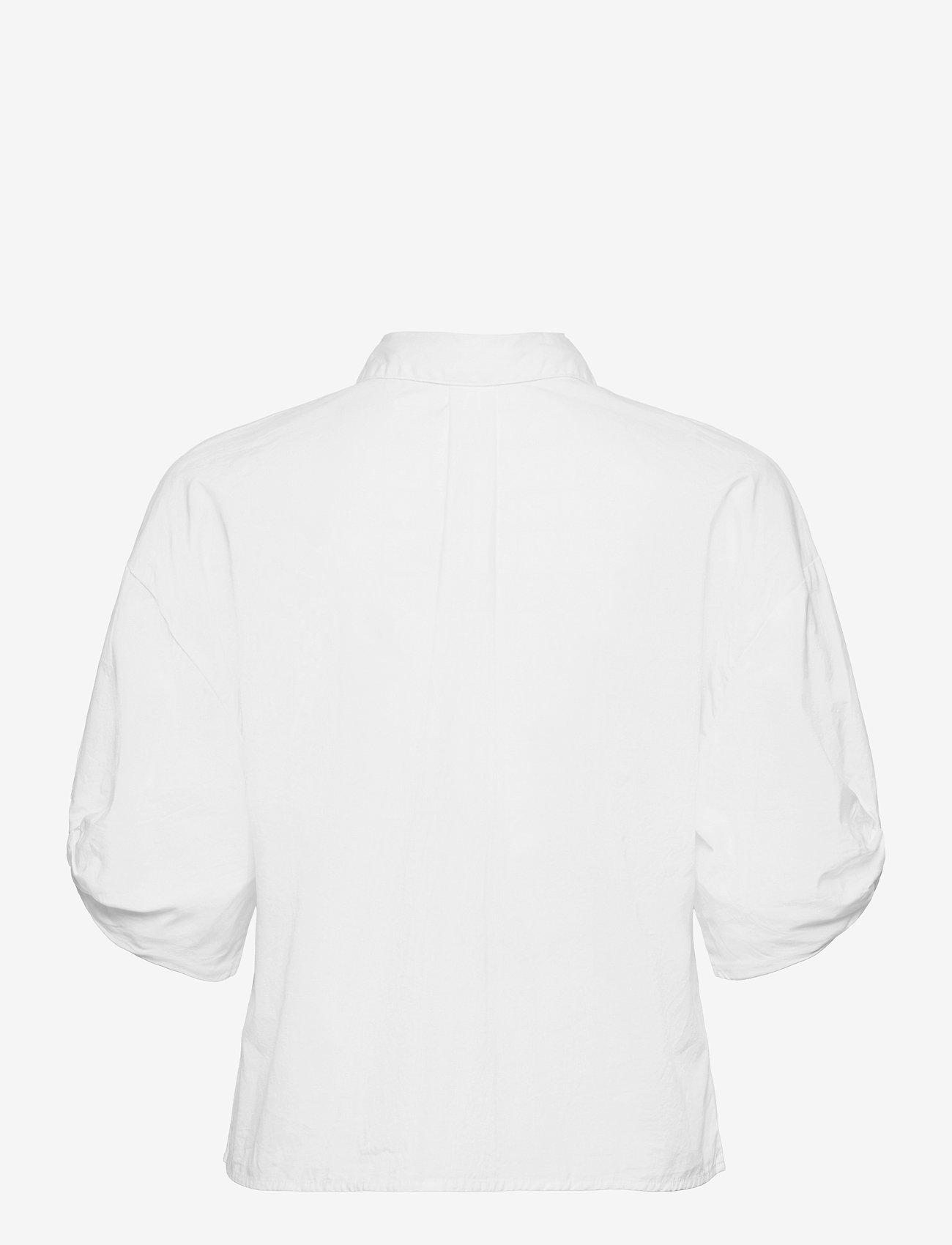 Selected Femme - SLFLILO 2/4 SHIRT M - jeanshemden - bright white - 1