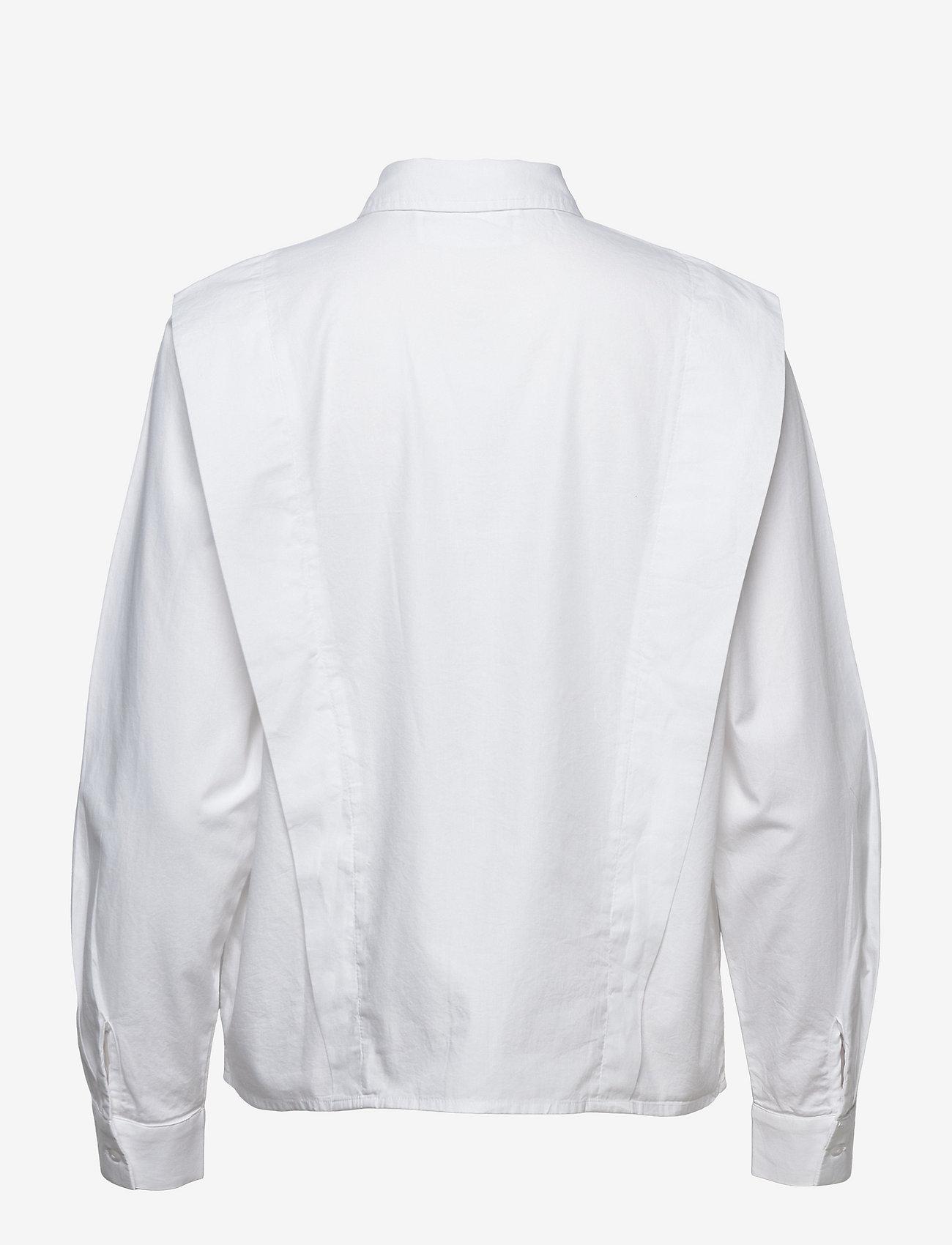 Selected Femme - SLFBELLO LS SHIRT W - jeanshemden - bright white - 1