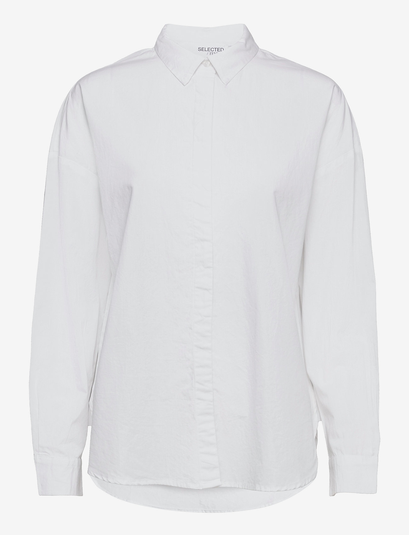 Selected Femme - SLFHEMA LS SHIRT B - jeanshemden - bright white - 0