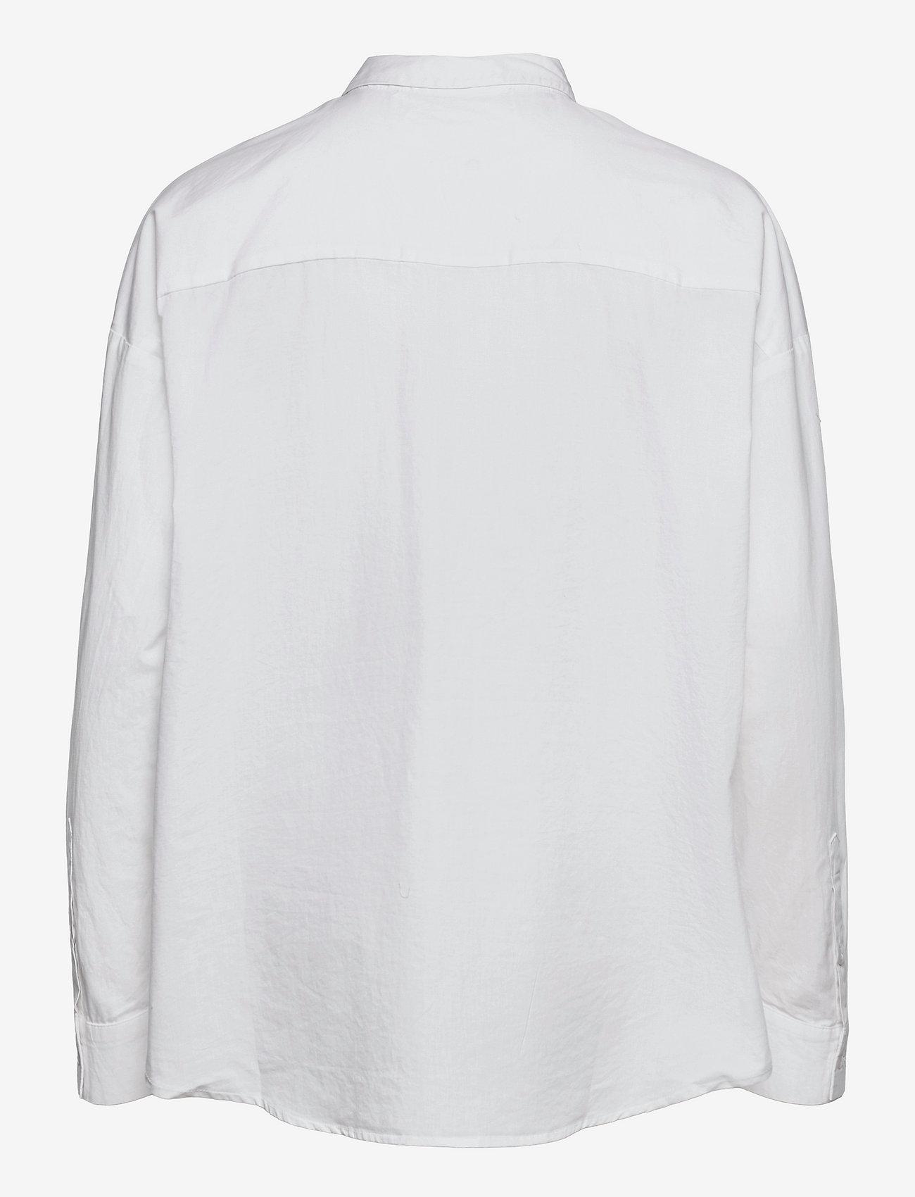 Selected Femme - SLFHEMA LS SHIRT B - jeanshemden - bright white - 1