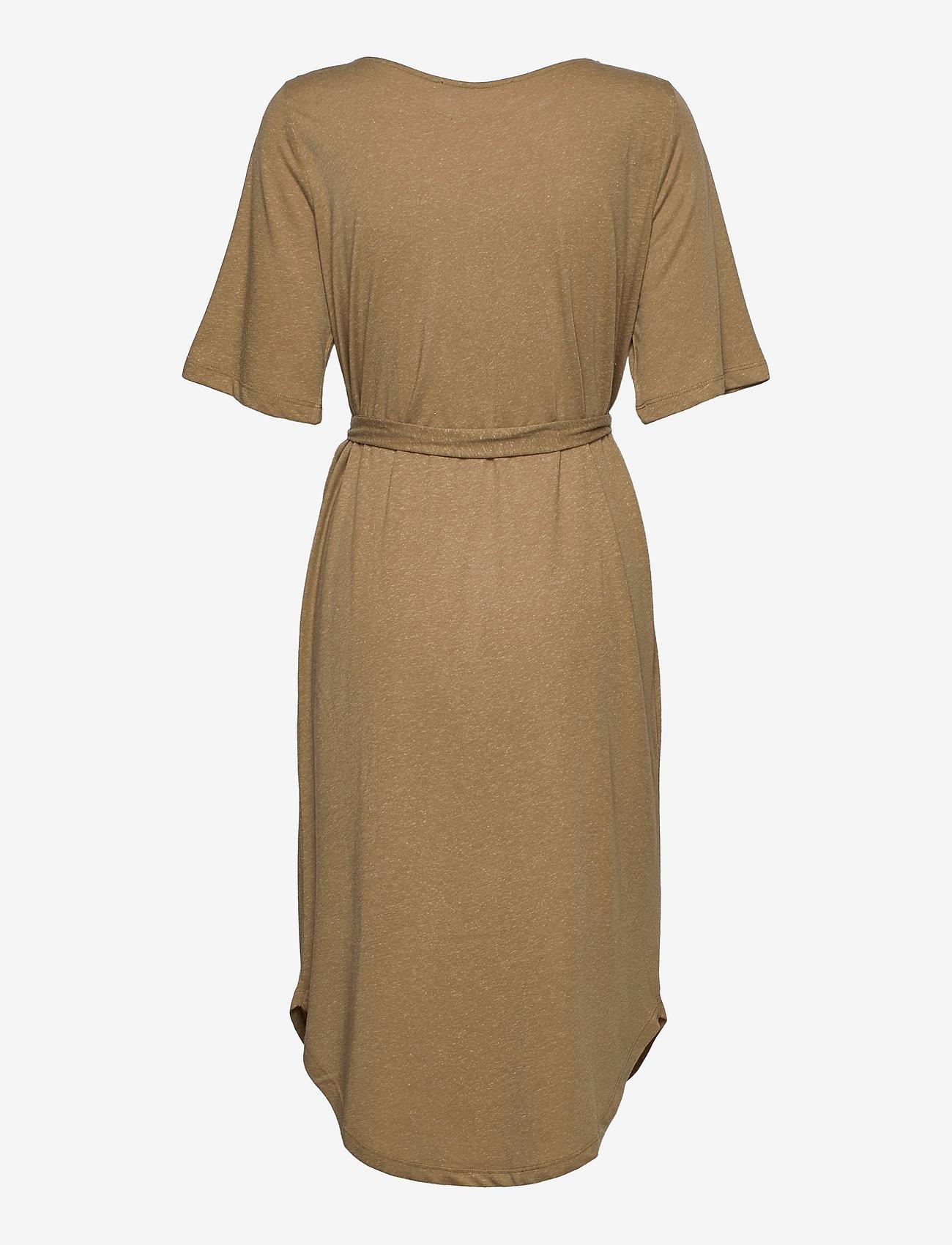 Selected Femme - SLFIVY 2/4EACH DRESS SOLID M - sommerkleider - kelp - 1