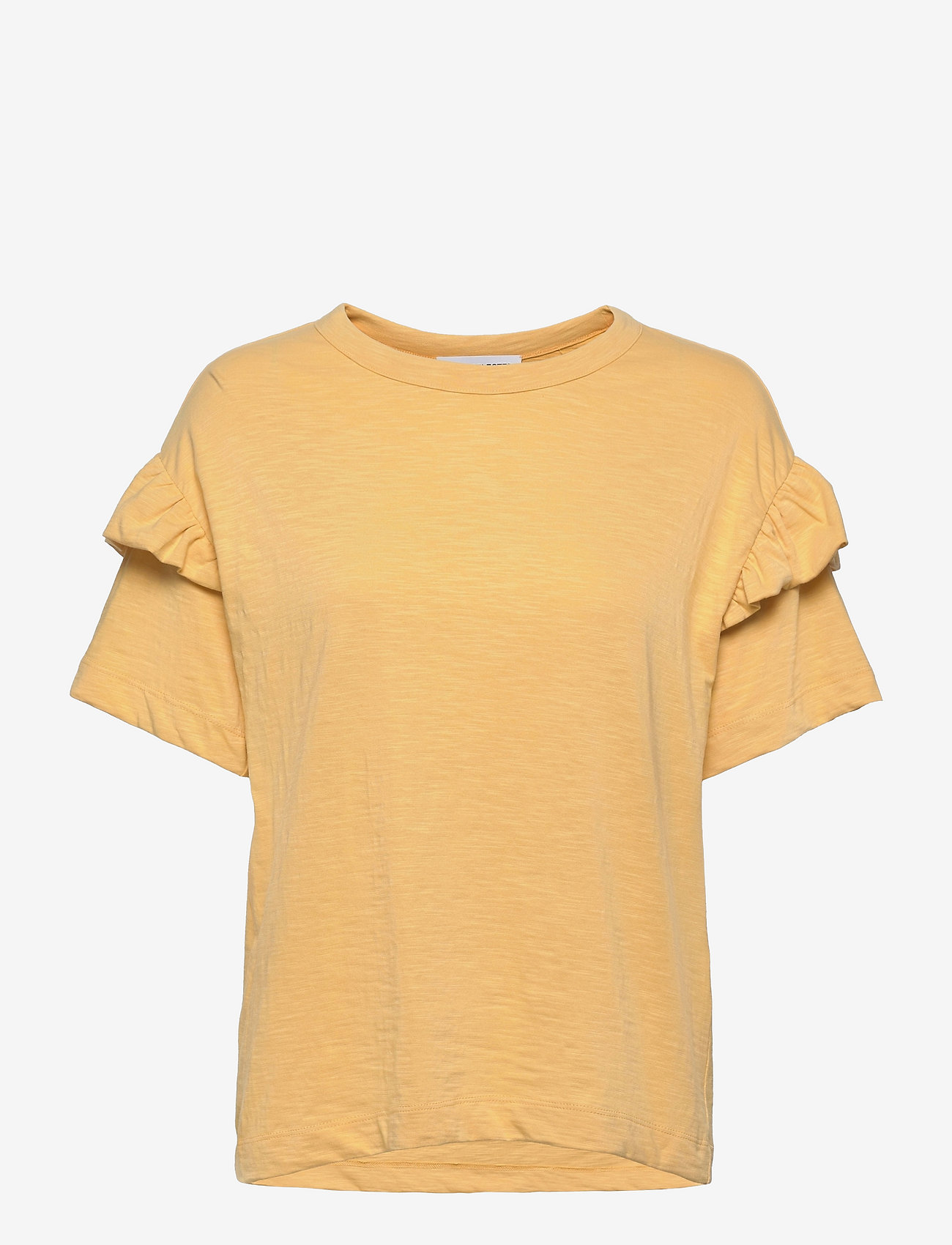 Selected Femme - SLFRYLIE SS FLORENCE TEE M - t-shirts & tops - sahara sun - 0