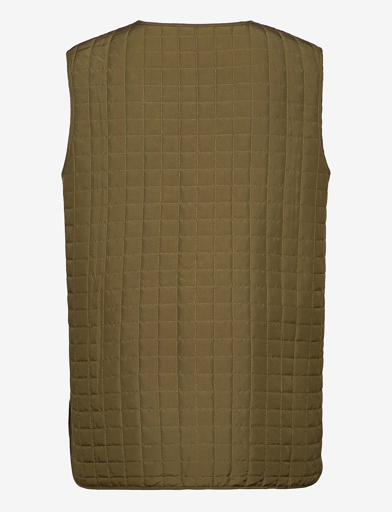 Selected Femme - SLFGINNA SL QUILTED VEST EX - puffer vests - olive night - 1