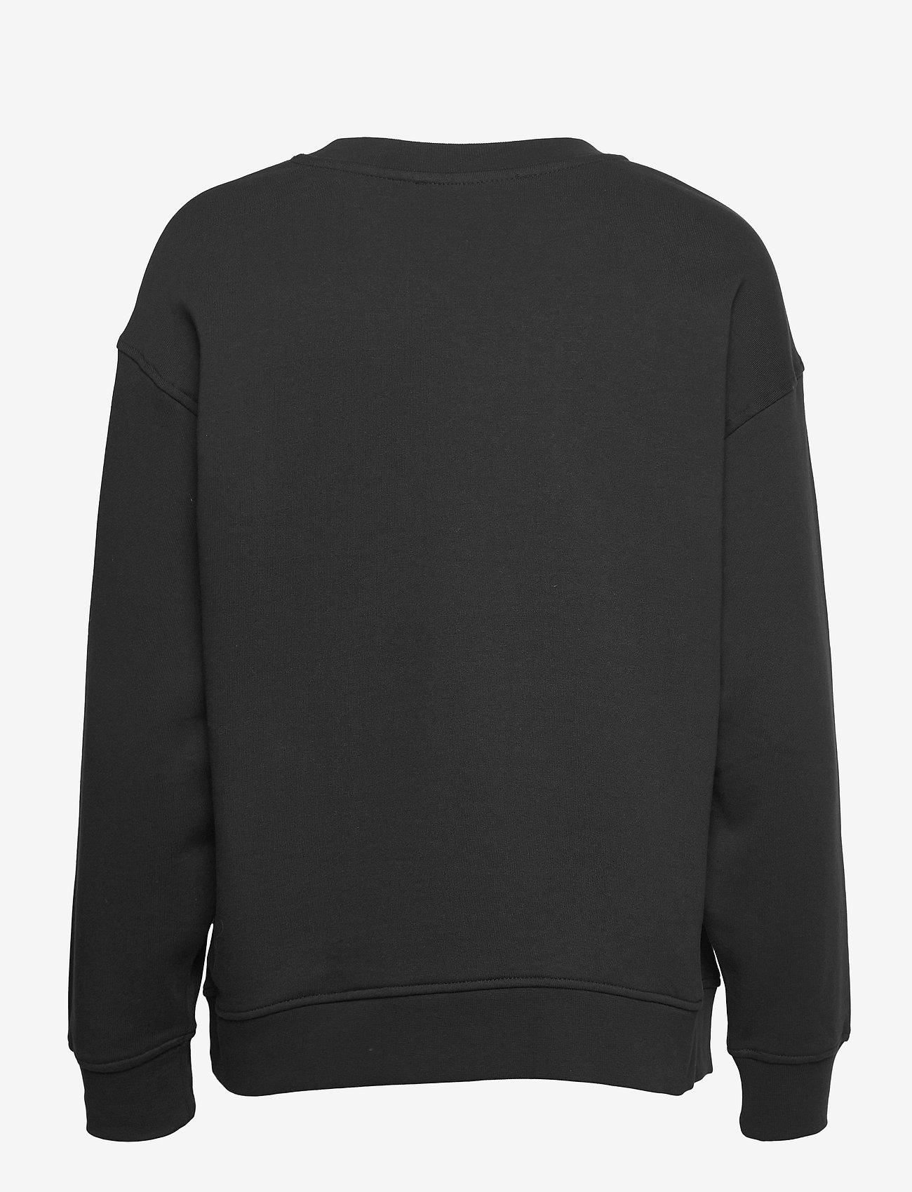 Selected Femme - SLFSTASIE LS SWEAT - sweatshirts & hoodies - black - 1