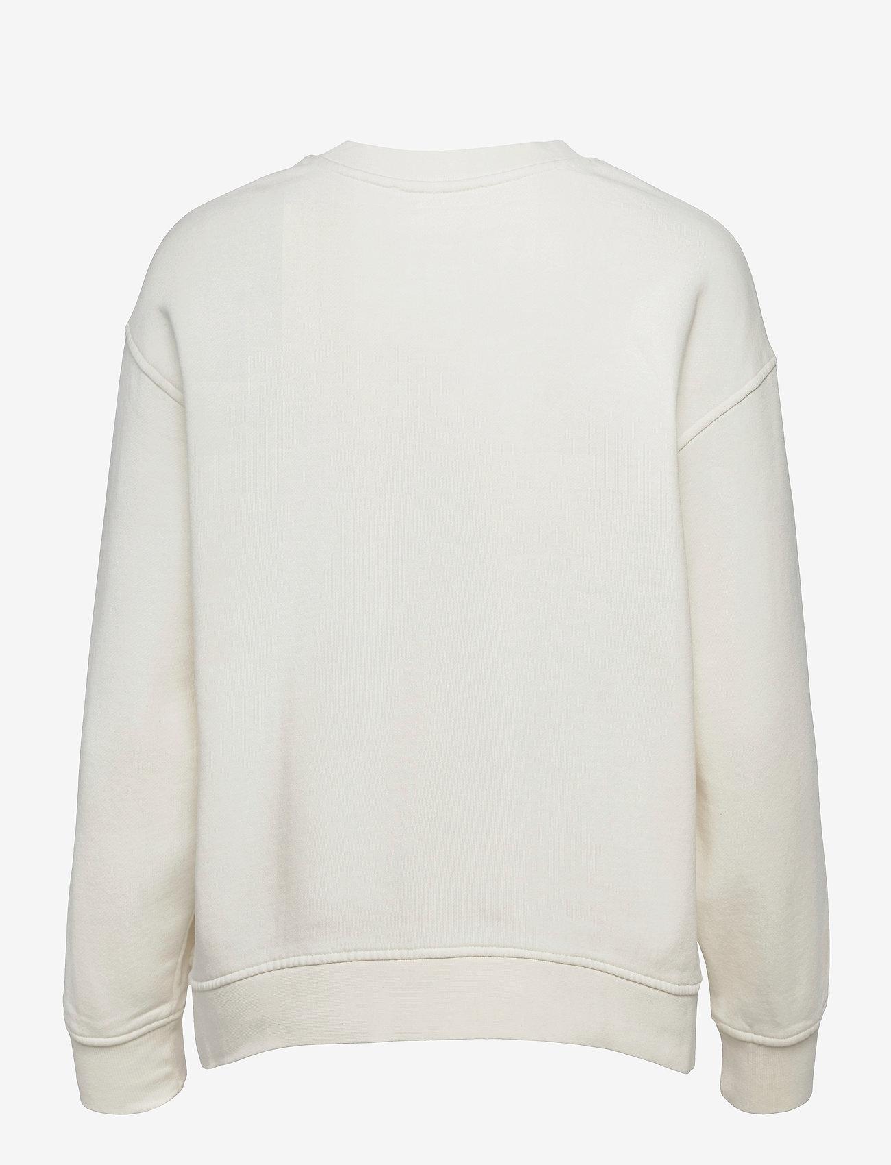 Selected Femme - SLFSTASIE LSWEAT - sweatshirts & hoodies - pristine - 1