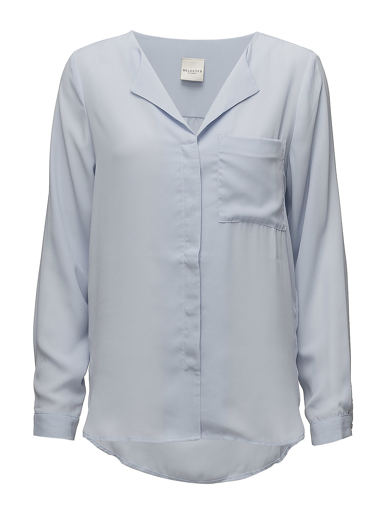 Selected Femme SLFDYNELLA LS SHIRT - XENON BLUE