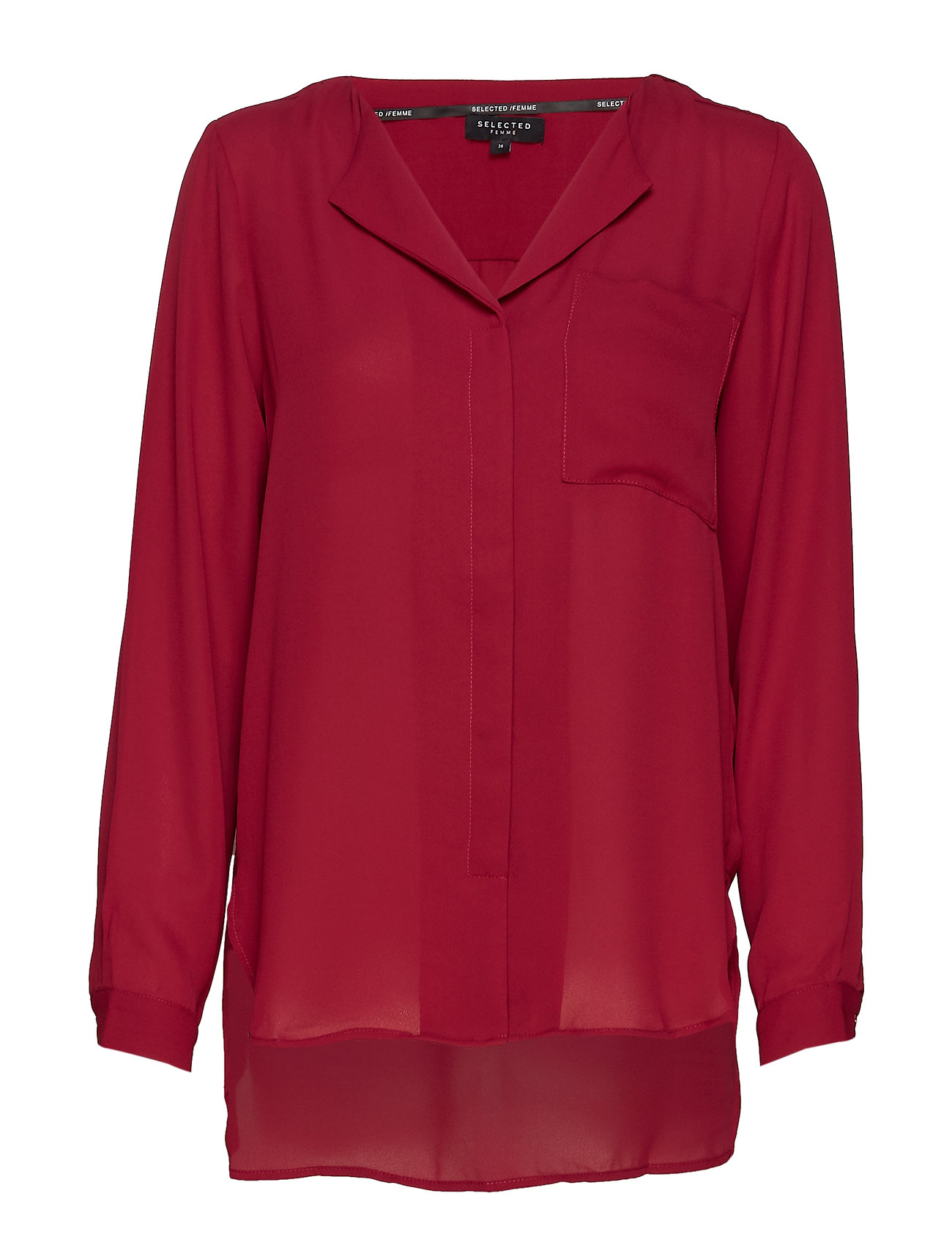4e5a046e Selected Femme Slfdynella Ls Shirt Noos (Beet Red), (25 €) | Large ...