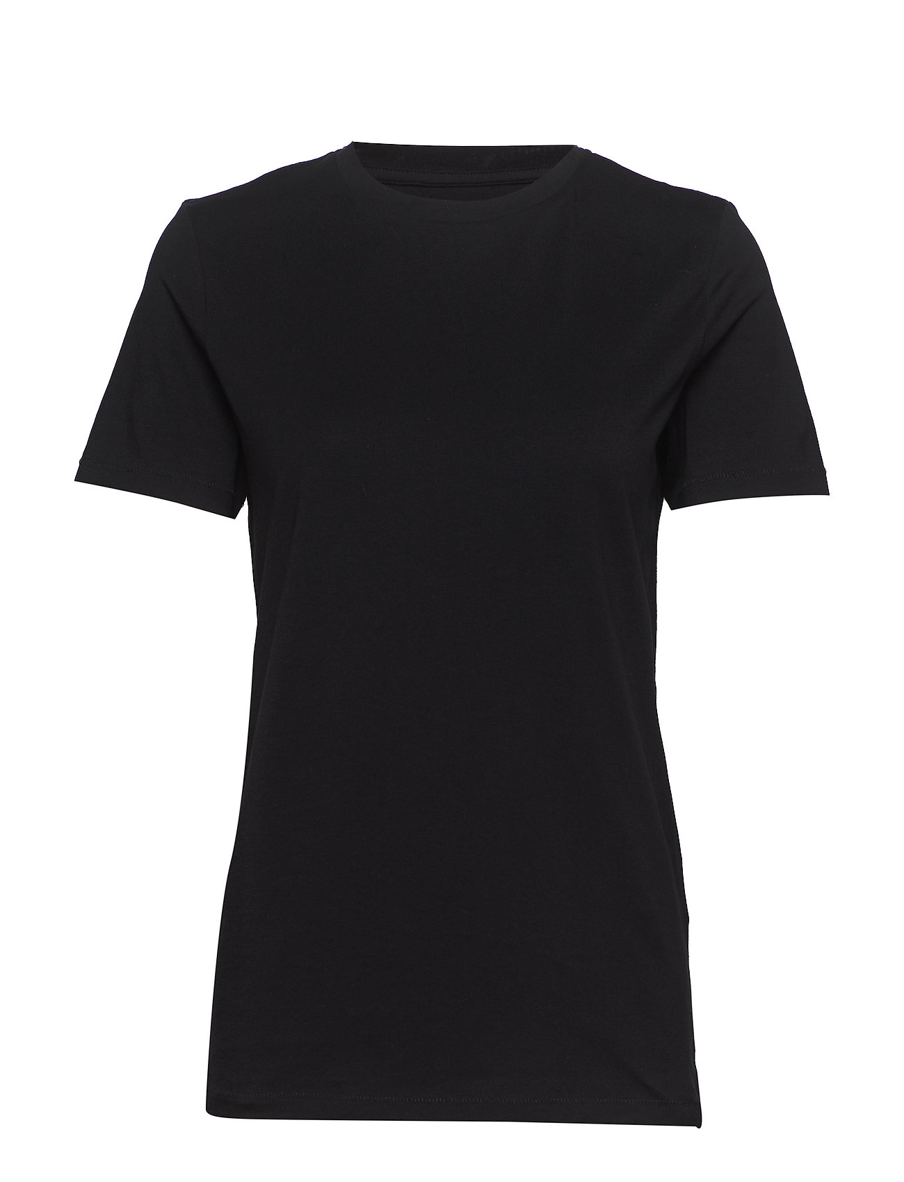 Selected Femme Slfmy Perfect Ss Tee Box Cut Noos T-shirts & Tops Short-sleeved Svart Selected Femme