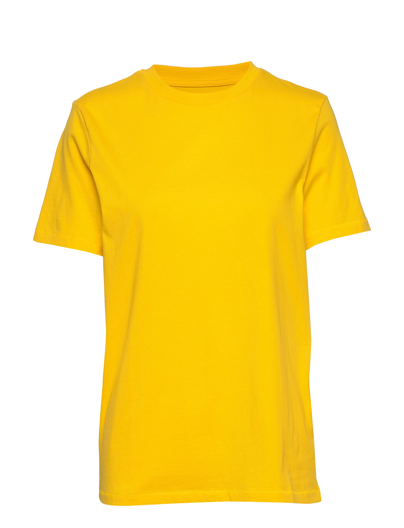 Selected Femme SLFMY PERFECT SS TEE BOX CUT COLOR - EMPIRE YELLOW