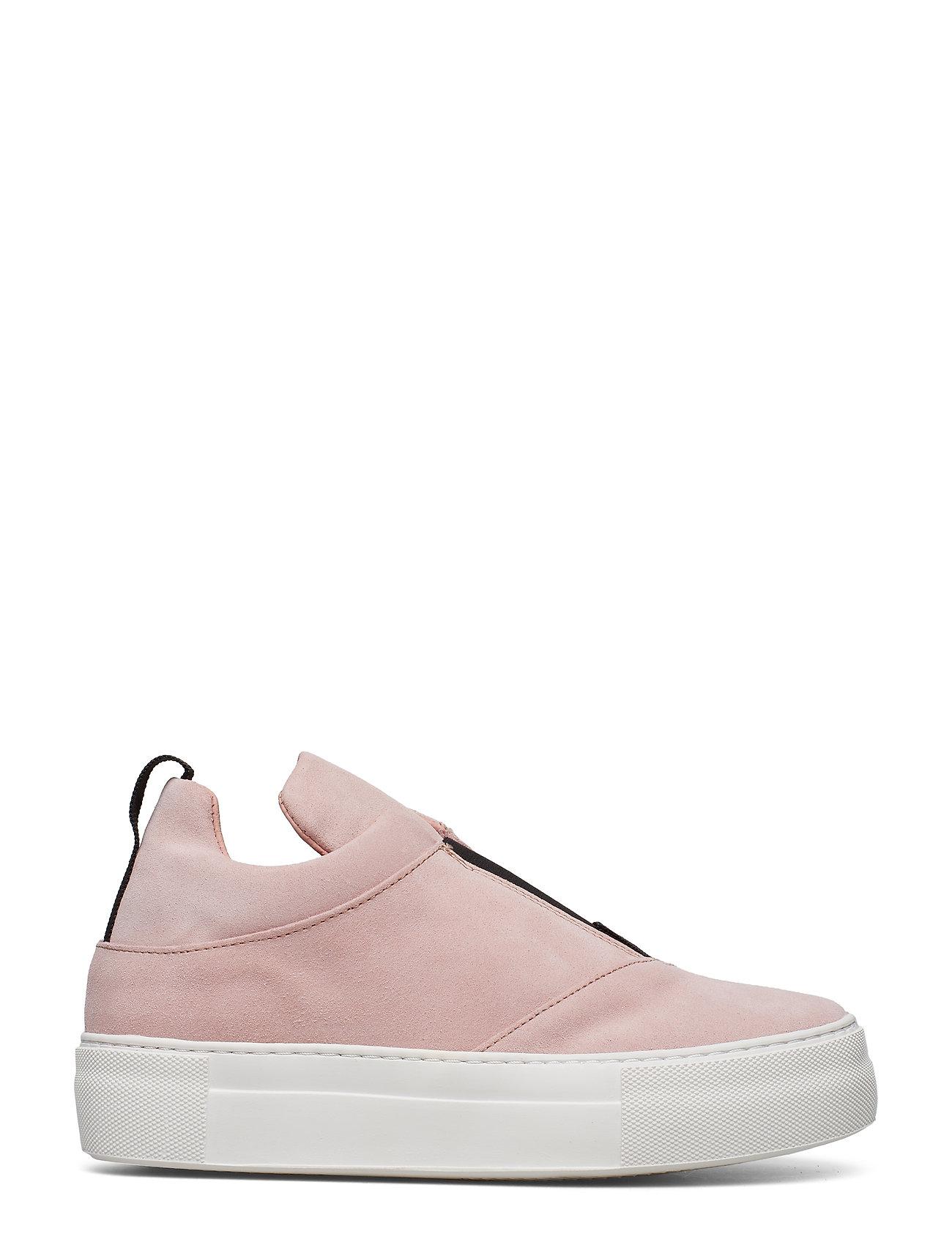 Selected Femme - SLFANN SUEDE SLIPON B - lave sneakers - heavenly pink - 1