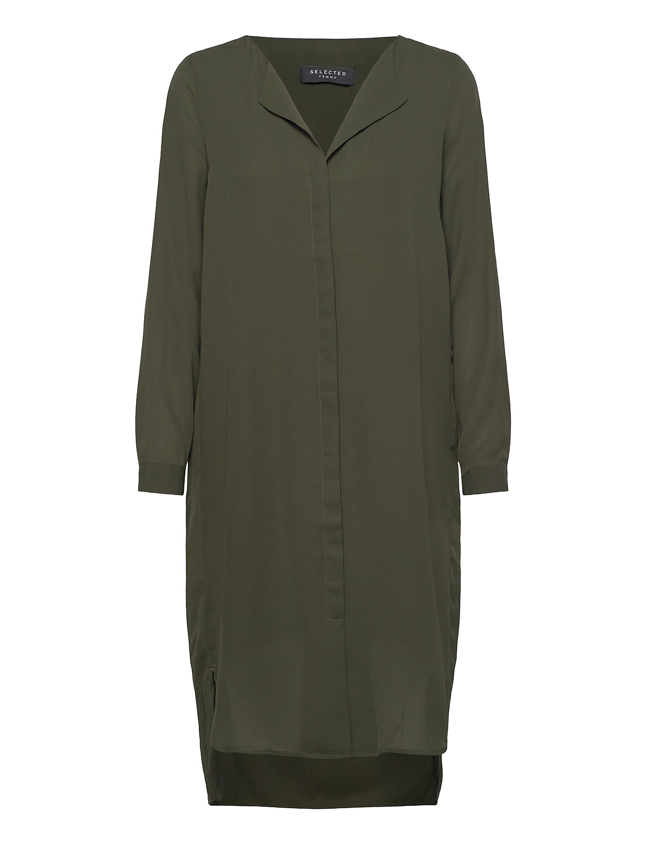Selected Femme SLFDYNELLA LS DRESS B - ROSIN