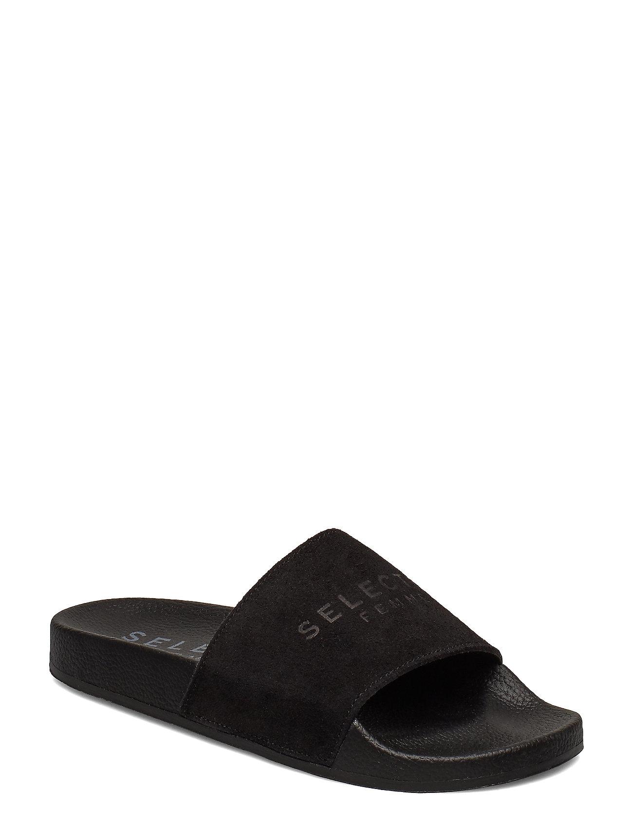 dde6d724d22 Slfsteph Suede Slider B (Black) (34.99 €) - Selected Femme - | Boozt.com