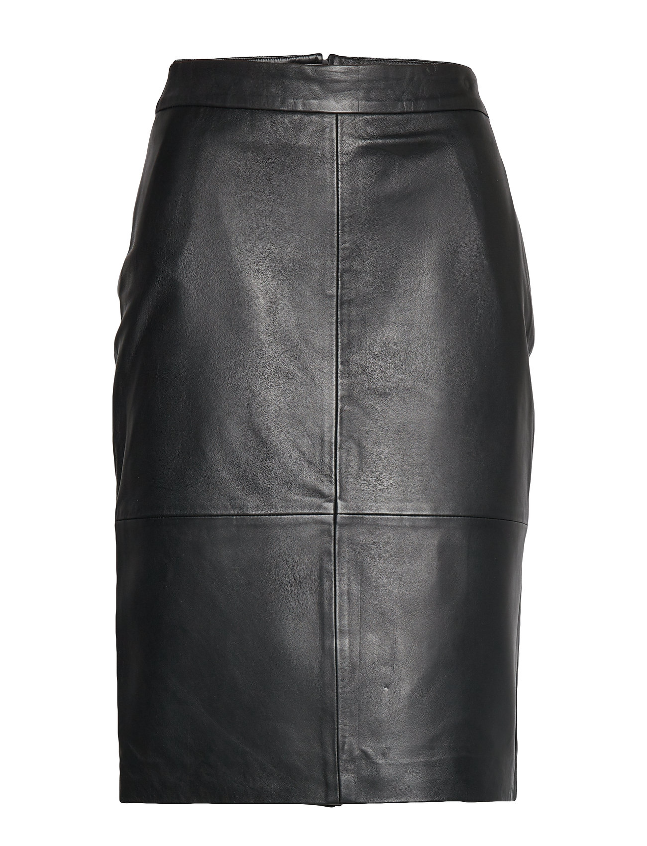 SELECTED Slfmaily Hw Leather Skirt W Bleistiftrock Rock Schwarz SELECTED FEMME
