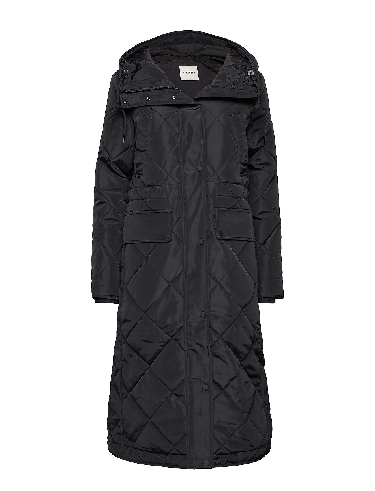 Selected Femme SLFHIMA COAT W - BLACK