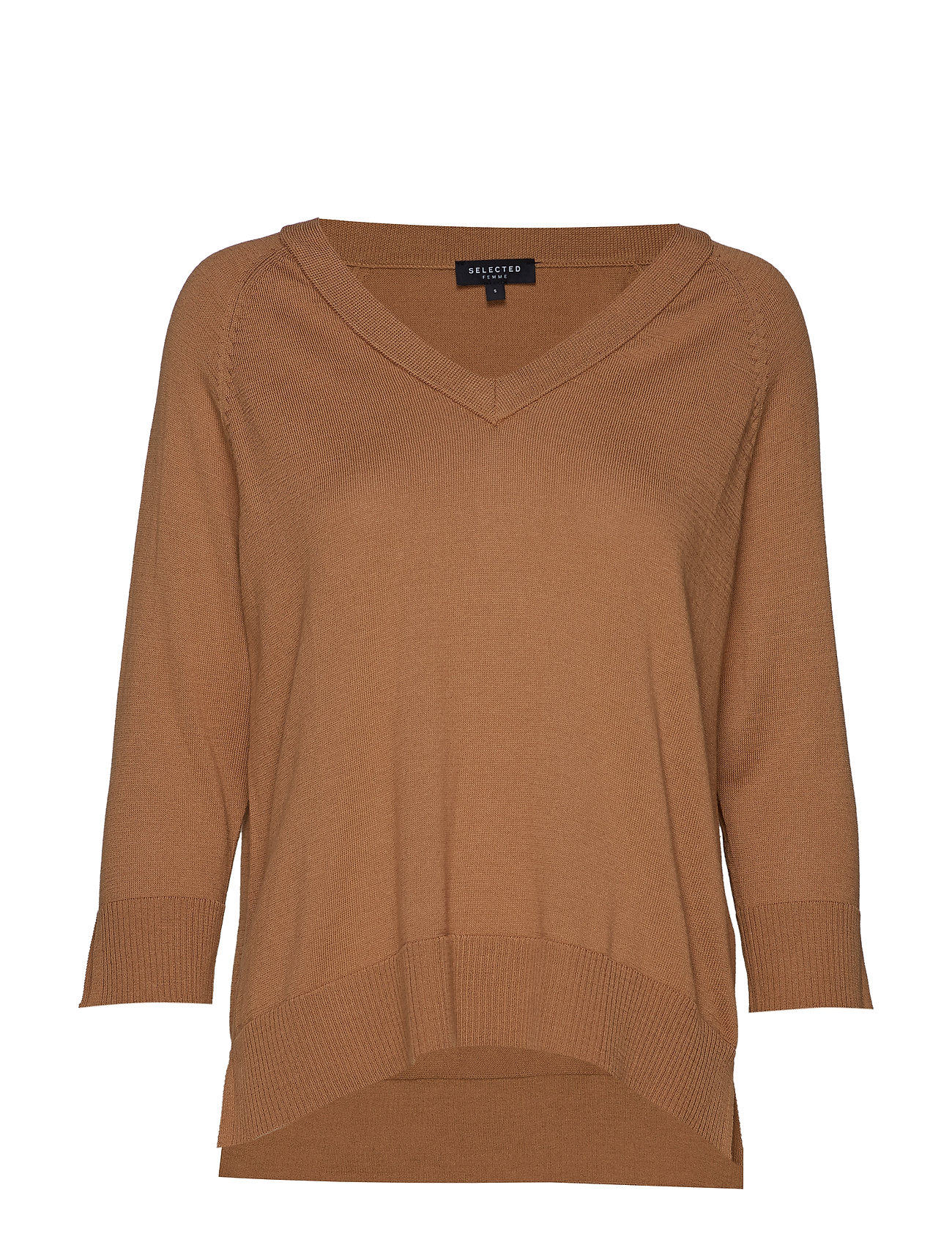 Selected Femme SLFTHEA 3/4 KNIT V-NECK B
