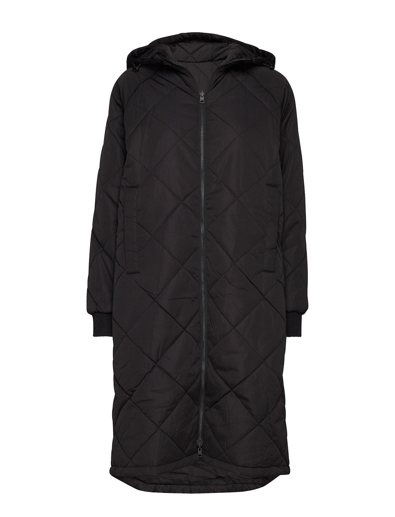 SELECTED Slfmaddy Coat B Noos Gefütterter Mantel Schwarz SELECTED FEMME