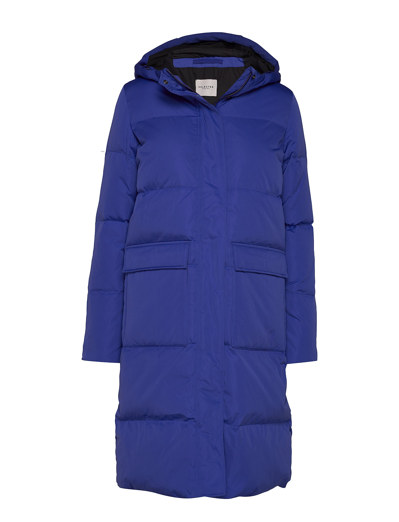 Selected Femme SLFNIMA DOWN COAT W - CLEMATIS BLUE