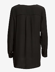 Selected Femme - SLFDYNELLA LS SHIRT NOOS - bluzki dlugim rekawem - black - 2