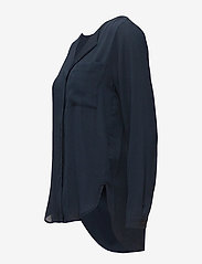 Selected Femme - SLFDYNELLA LS SHIRT NOOS - long sleeved blouses - navy blazer - 2