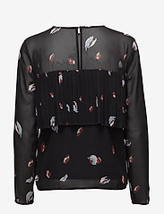 Selected Femme - SFFIFFI LS TOP EX - long sleeved blouses - black - 1