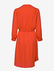 Selected Femme - SLFDAMINA 7/8 DRESS B - robes midi - orange.com - 1